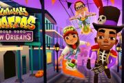 Subway surfers New Orleans: Halloween скачать бесплатно на андроид