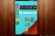 Лаунчер TSF shell pro 3d на андроид