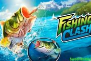 Fishing clash мод много денег