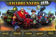 Скачать Fieldrunners HD для android бесплатно