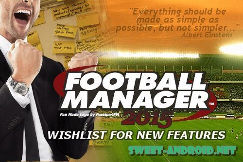 Football Manager Handheld 2015 для андроид