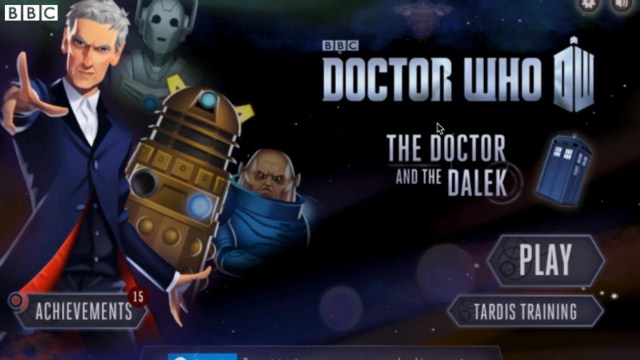 The Doctor and the Dalek игра на андроид