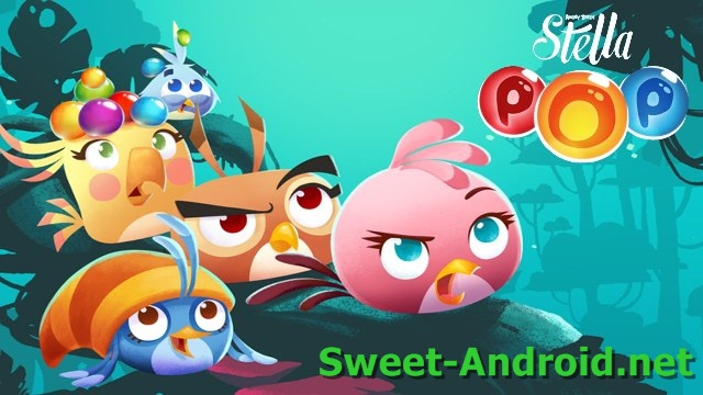 Angry Birds Stella POP для android