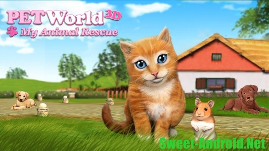 PetWorld 3D: My Animal Rescue на андроид