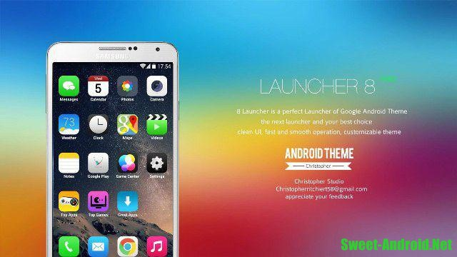 One Launcher для android