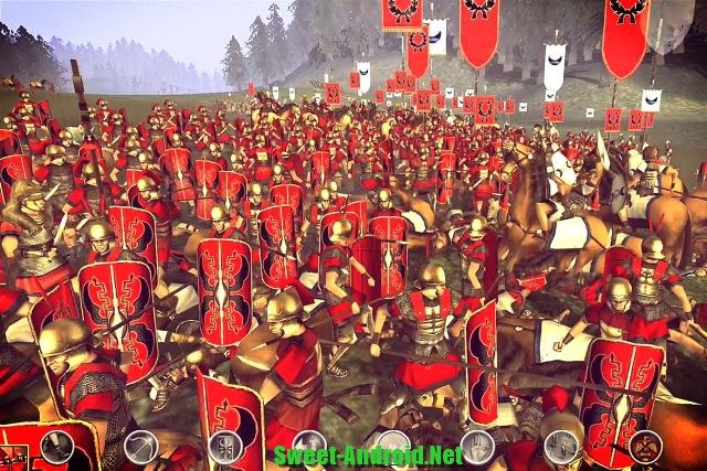 Обзор игры Total War на Android - YouTube