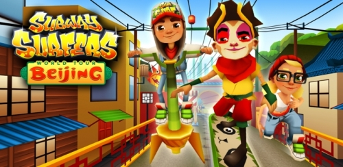 Subway Surfers Китай на андроид