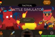 Tactical Battle Simulator мод много денег