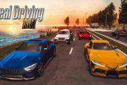 Real Driving Sim мод много денег