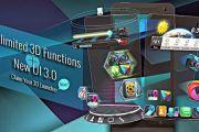 Next Launcher 3d для андроид скачать полную версию