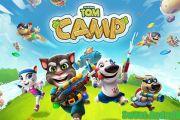 Talking Tom Camp мод много денег