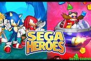 Sega Heroes mod много денег