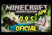 Minecraft pocket edition 0.9.5 rus на андроид