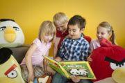 Angry Birds Playground - Птицы будут учить