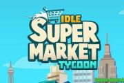 Idle Supermarket Tycoon Shop мод много денег