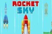Rocket Sky мод много денег