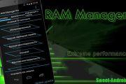 Ram Manager Pro для андроид