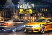 Taxi Sim 2020 мод много денег