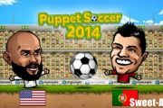 Puppet soccer 2014 на android