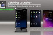 Lightning Launcher для андроид