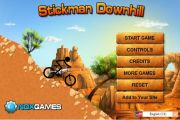Stickman Downhill: Motocross на андроид