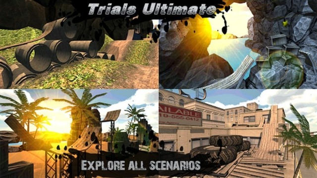 Trials Ultimate 3D HD на android