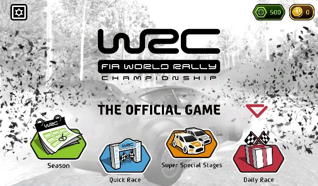 WRC: The Official Game для android