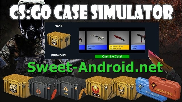 Cs: Go case simulator для android
