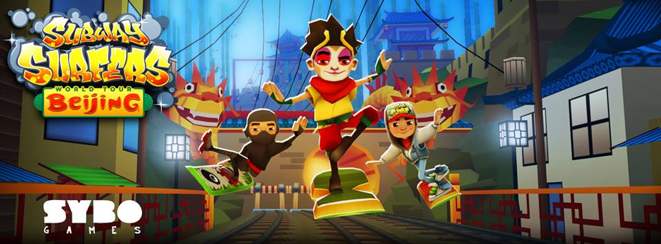 Новая часть Subway Surfers Китай вышла на андроид 1 августа