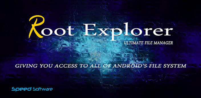 Root explorer android